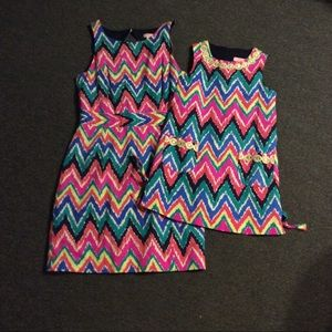 Lilly Pulitzer Mommy & Me Dress Hearts a Flutter